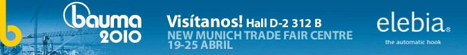 BANNER 11 - Elebia estará en BAUMA 2010 (Munich)